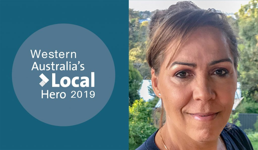 Prof Cheryl Tucker-Kickett Western Australia's Local Hero 2019